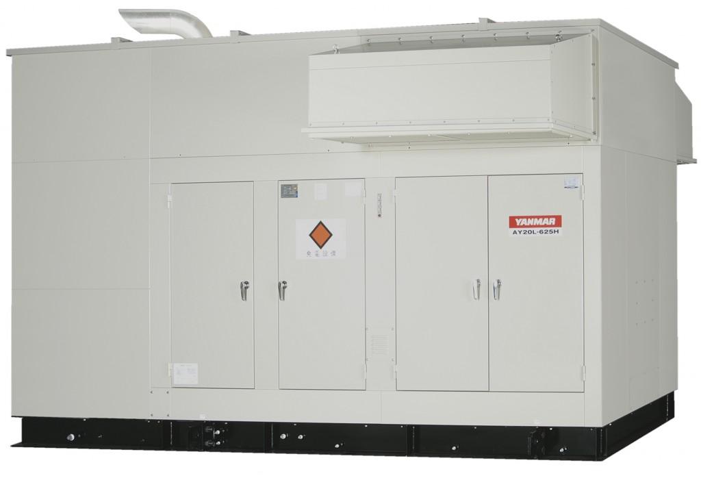 1)ディーゼル発電設備写真2