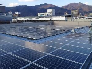 長野県内 某事務所 太陽光発電 50kVA